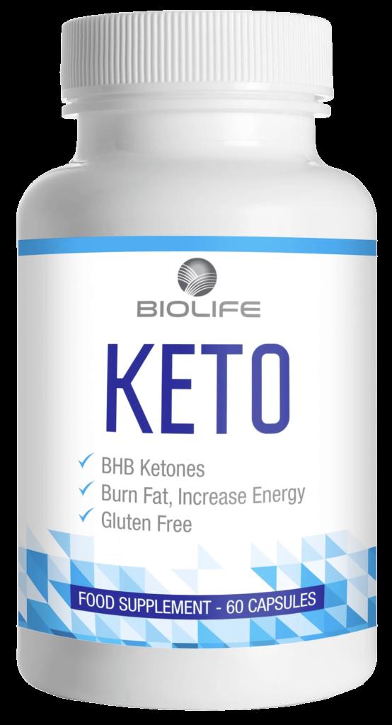 Flacon de 60 gélules Keto Biolife
