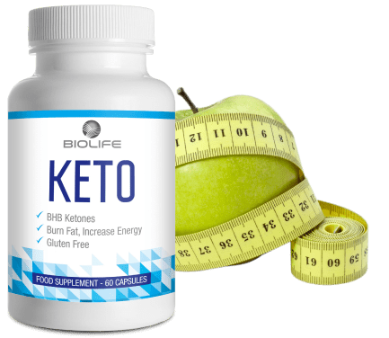 Bouteille de Keto Biolife