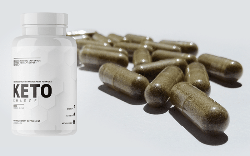 Pilules et flacon Keto Charge