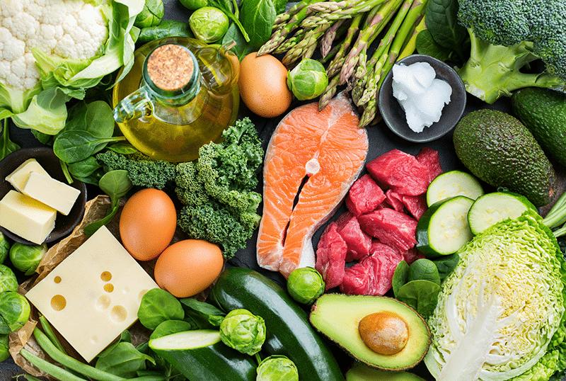 Aliments autorisés dans le régime cétogène