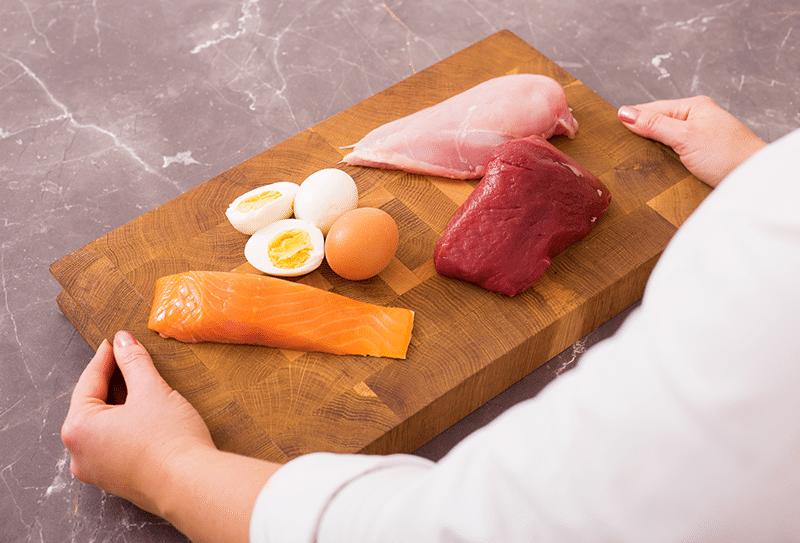 Protéines pour la diète cétogène